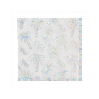 20X SERVIETTE TROPICAL SCHILLE