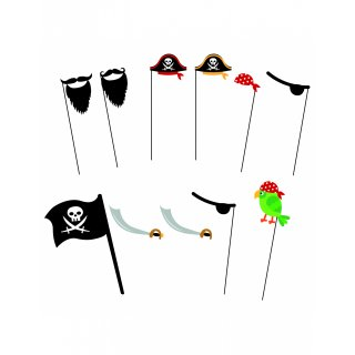 10x Photoprops Fotoaccessoires Pirat